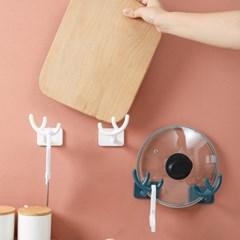사슴뿔형 다용도 주방걸이 욕실걸이 2쌍 (색상선택)