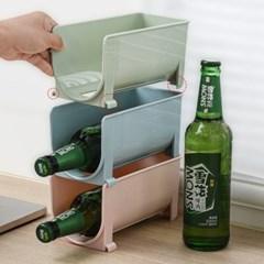 냉장고 와인 음료수병 보관정리대 2개 (색상선택)