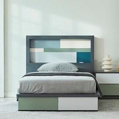 [스코나]벅스턴 LED 모던 슈퍼싱글 침대(매트 별도)