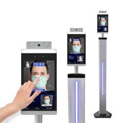 터치스크린형 얼굴 안면 인식 발열 체온 온도 체크기 측정기