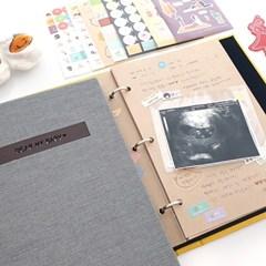 제이밀크 프리미엄 이니셜 초음파앨범 SET (6color)