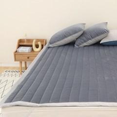트윈소프트 겨울 극세사 고정밴드 침대패드(S/Q) 3color