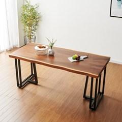 코디 1400x800 원목식탁 카페테이블 우드슬랩식탁
