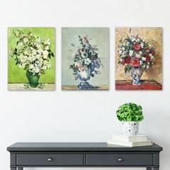 명화액자 3p set 꽃세트