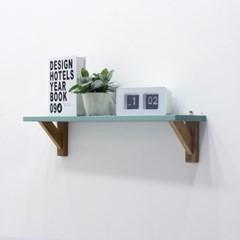 소나무 원목 레트로벽선반
