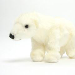 4768 북극곰 동물인형/27x13cm