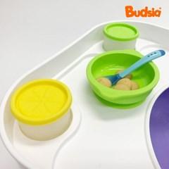 [버드시아] 쿠션 아기의자 전용 이유식 식판