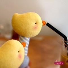 [DIY]노랑병아리 딸랑이 만들기 패키지(색상선택)