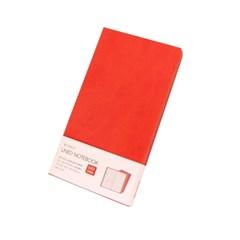 [웍스] 라인드 노트북 S401 선셋 레드 포켓