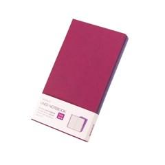 [웍스] 라인드 노트북 S402 플럼 퍼플 포켓
