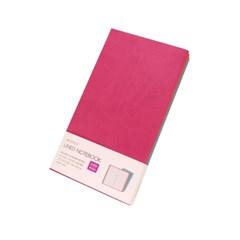 [웍스] 라인드 노트북 S403 캔디 핑크 포켓