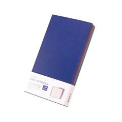 [웍스] 라인드 노트북 S406 텐더 블루 포켓