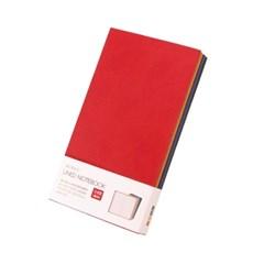 [웍스] 라인드 노트북 S408 심볼 레드 포켓
