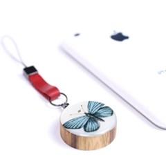 핸드폰고리[butterfly]