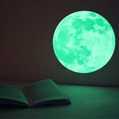 환상의달빛 Clair De Lune (야광달빛스티커) - Medium