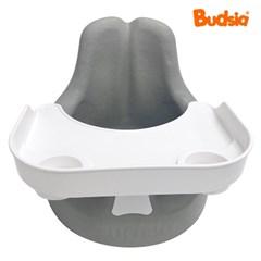 [버드시아] 쿠션 아기의자 2종세트(의자+식판)