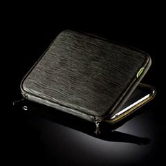 바투카 링클 카키 노트북파우치 10.1인치, 12.1인치
