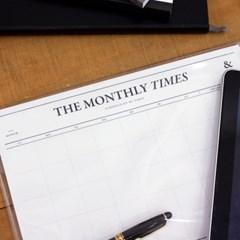 먼슬리타임즈 - Desk Notepad