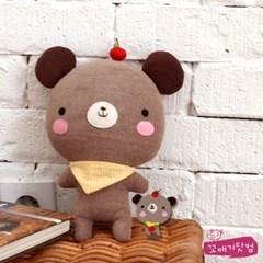 [DIY]아기 사과곰 만들기 패키지 (솜포함)