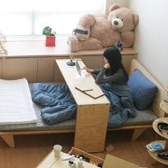 수퍼싱글-JWK 침대위를 오가는 베드테이블 LAZY BED TABLE