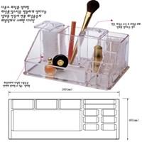 투명 화장품 향수 정리함(중)