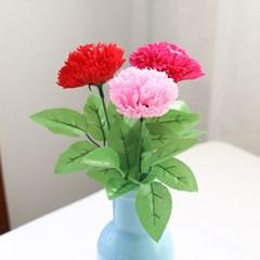 심플 한송이 카네이션꽃다발