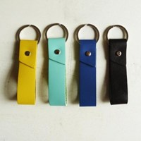 Basic Leather Keyring