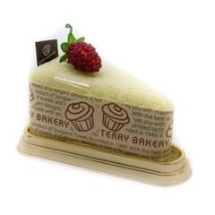 송월타올 테리베이커리 삼각조각케익