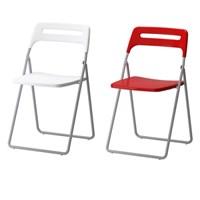 NISSE Folding chair silver 프레임