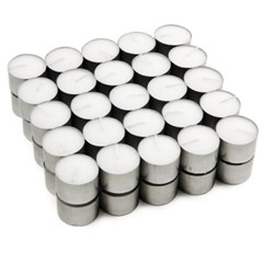 [홈앤하우스]티라이트50개멀티팩9시간연소BONCandle무향흰색양초