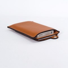 Eyelet iPhone case - Whole Brown