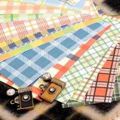 폴라로이드 필름 스킨 Fabric Pattern 20장