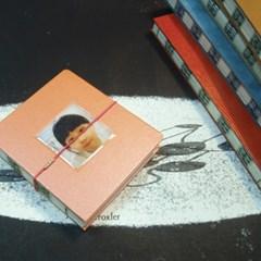 핸드메이드 노출제본 패션 핸디 다이어리 - 비바 아날로그