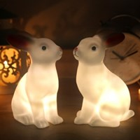 rabbit led lamp (미니토끼 LED램프)