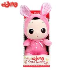 뚱 봉제인형-핑크