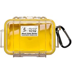 펠리칸케이스 1010 / Pelican 1010 Micro Case [Black&Yellow]
