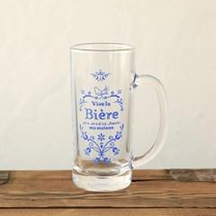 마메종 블루로즈 썸머글라스 맥주잔 XL