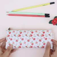 Flower pattern pencilcase - 5 type
