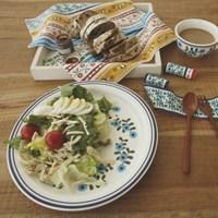 Hungarian's Nordic_Pasta & Salad Plate _ 그녀의 브런치 타임