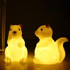 BABY SQUIRREL (아기 다람쥐 LED램프)