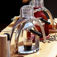 전기가 필요없는 수동 ROK 커피머신/에스프레소머신
