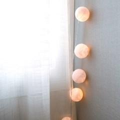 화이트 눈송이 LED 전구