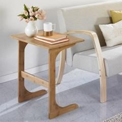 [앳홈] 대나무 원목 이즈 중형 사이드 테이블