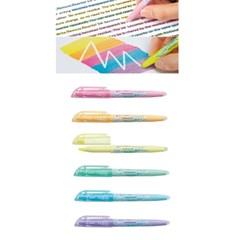 파일롯 프릭션라이트 지워지는형광펜(Soft)6컬러