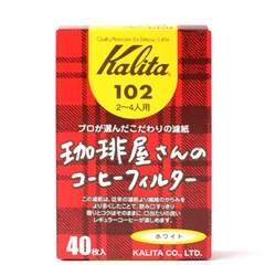 [Kalita] 칼리타 침엽수펄프 102 화이트 40매