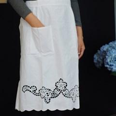 Burano lace apron