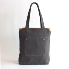SECOND BAG_DARK GREY