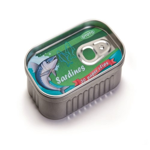 Sardines 정어리 종이 클립