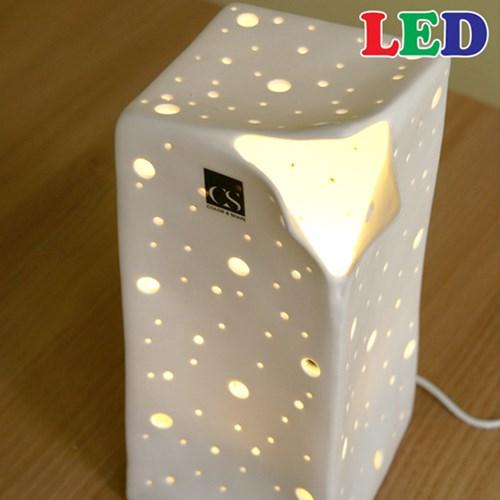 [LAMPDA] LED 세라믹 크리즈 스탠드