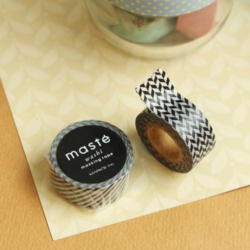 MASTE BASIC2 Checkered-MST-MKT41-Black